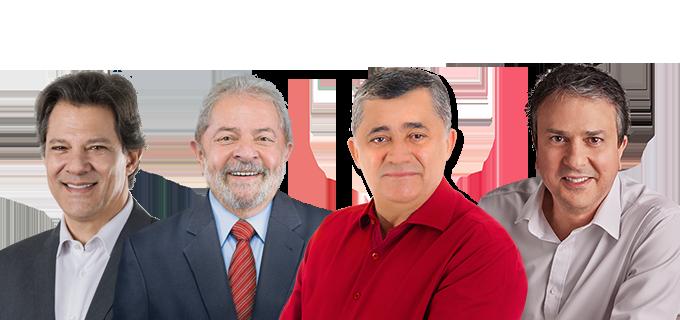 Resultado de imagem para Imagens do deputado Guimarães com Haddad